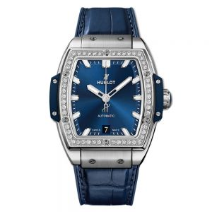 Hublot Spirit Of Big Bang Titanium Blue Diamonds