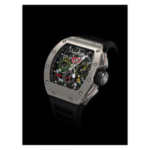 Richard Mille RM 11-02 Titanium Flyback Chronograph Dual Time Zone