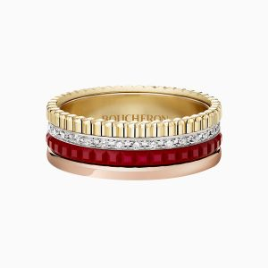 Anillo Boucheron Quatre Red Edition