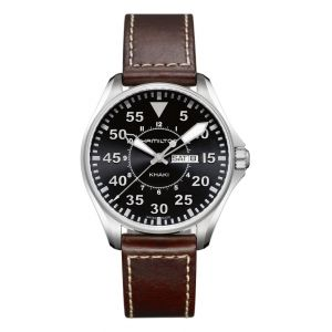 Hamilton Aviation Pilot de cuarzo