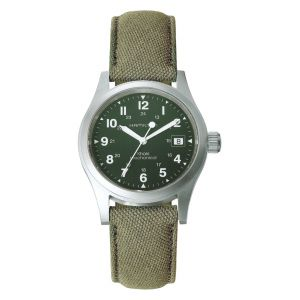 Hamilton Khaki Field Officer Cuerda Manual