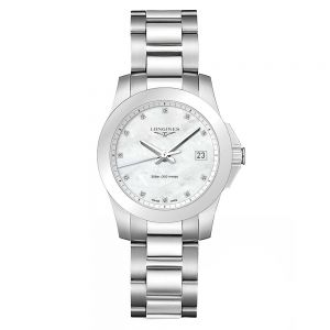 Longines Sport Conquest Nácar y Diamantes