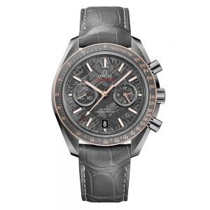 Omega Speedmaster Moonwatch Omega Co-Axial Chronograph Meteorite