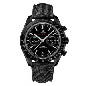 "Omega Speedmaster Moonwatch Co-Axial Chronograph ""Dark Side of the Moon"""