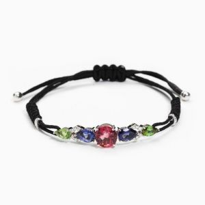 Pulsera de Hilo Color Block