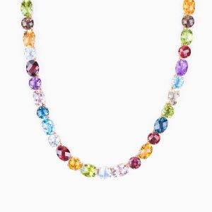 Color Stones Necklace