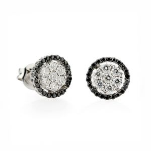 Black & White Diamonds Earrings