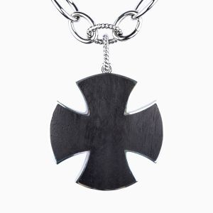 Silver Maltesse cross pendant