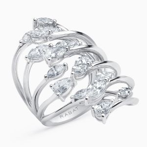 Diamonds Multi Band Ring