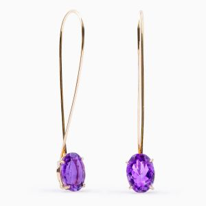 RABAT Flower Power Amethyst Earrings