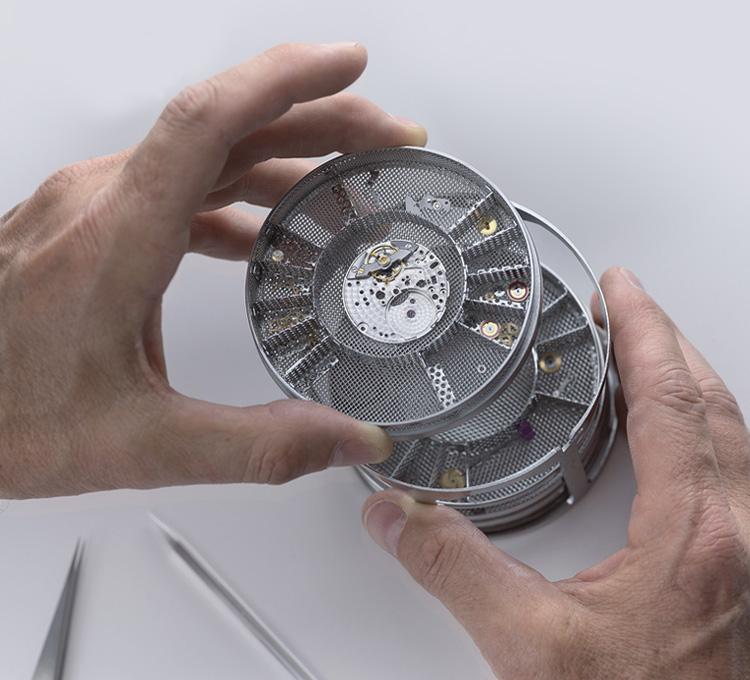 Limpieza del mecanismo Rolex