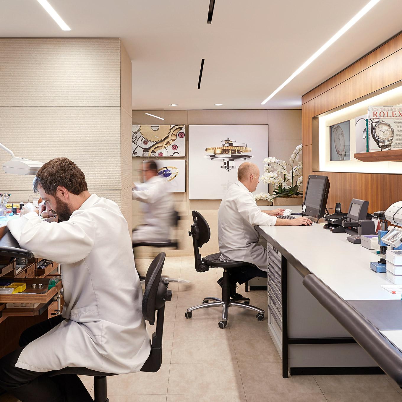 Servicio técnico de Rolex oficial