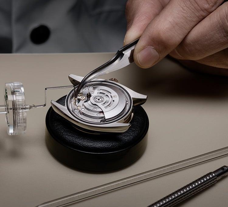 Test de precisión Rolex