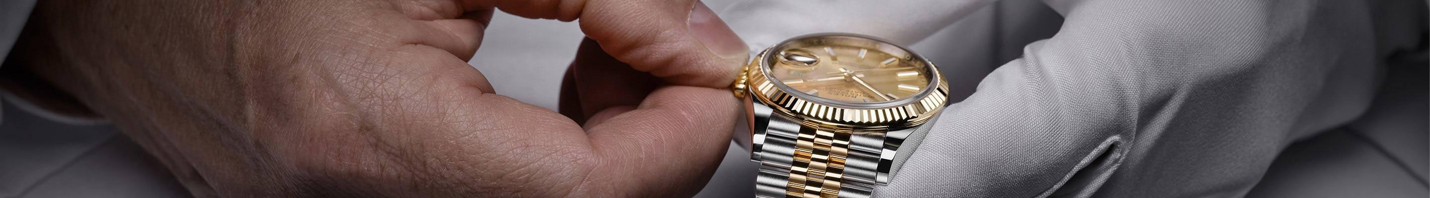 Cabecera del Servicio Técnico de Rolex