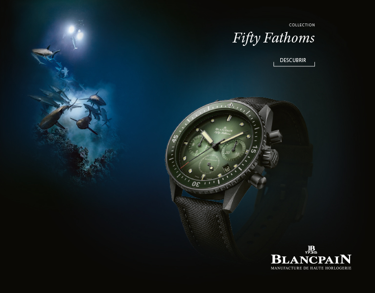 Relojes Blancpain Fifty Fathoms
