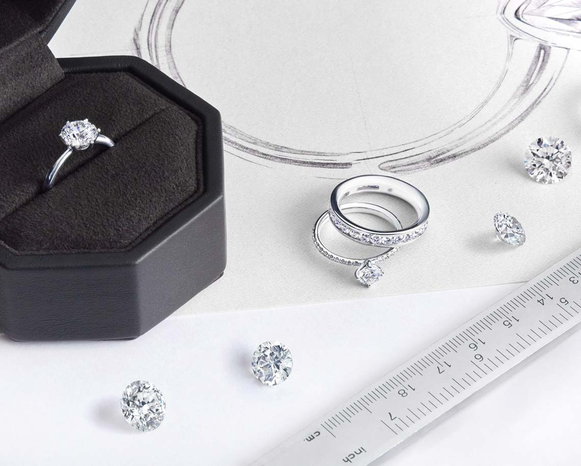 How to select the size of engagement rings